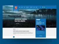 Local Municipality Website Scroll