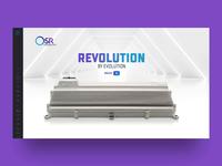 OSR Enterprises AG Website Menu - Revolution by Evolution