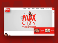 Max City shopping center - scroll