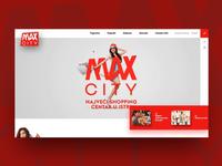 Max City shopping center - scroll