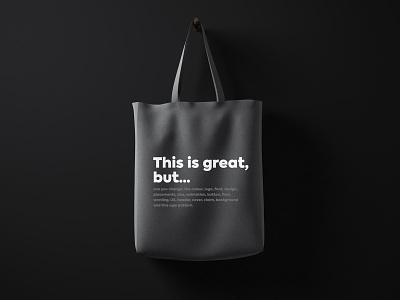 Goodie Bag Sneak Peek vol. 2 canvas print illustration bag design product design graphic design goodies design agency branding