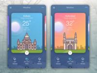 Weather App Screen