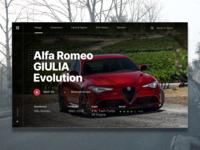 Alfa Romeo Web Template