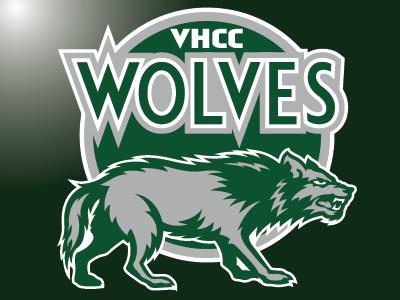 VHCC Wolves sports branding college sports mascot logo graphic design sports identity sports logo logo design