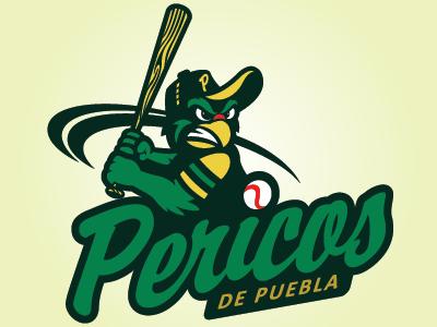Pericos De Puebla sports branding sports milb mascot logo graphic design sports identity sports logo logo design