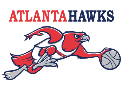 Atlanta Hawks sports branding pro sports mascot logo graphic design sports identity sports logo logo design