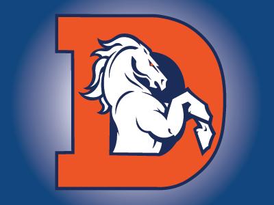 Denver Broncos Logo Update Concept 2 football denver broncos nfl sports branding pro sports mascot logo graphic design sports identity sports logo logo design