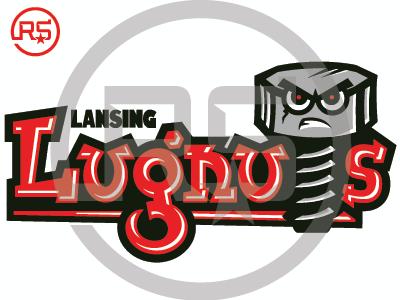 Lansing Lugnuts Concept Logo 1