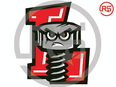 Lansing Lugnuts Concept Logo 2 baseball lansing lugnuts mwl milb sports branding pro sports mascot logo graphic design sports identity sports logo logo design