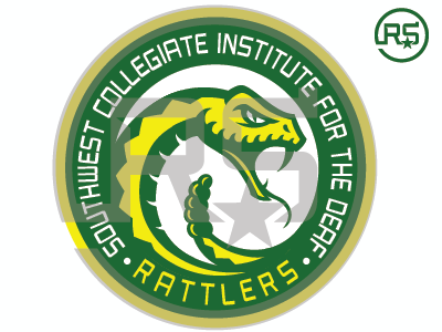 SWCID Rattlers Logo Concept 1 swcid rattlers sports branding college sports mascot logo graphic design sports identity sports logo logo design