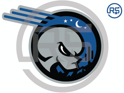 Roswell Destroyers Rebrand Concept Primary Mark