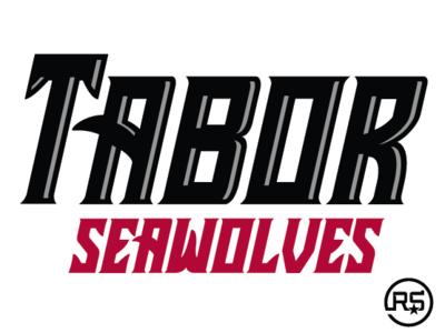Tabor Academy Seawolves Primary Wordmark mascot logo sport branding logos