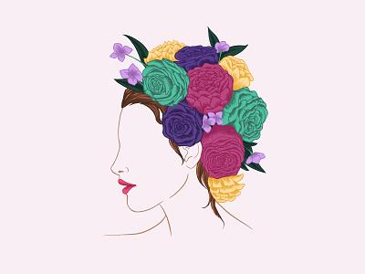 Flowers 1 flowers illustration procreate app procreate freehand illustration