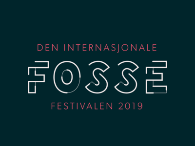 Logo Fossefestivalen identity design identity festival logo festival design typography branding vector logo