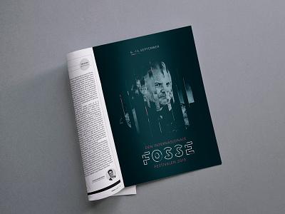Magazine ad promo festival promo logo design magazine graphic  design print print design print ad