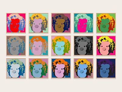 The Tony Art Gallery: Tony Monroe jindesign illustration vector art gallery mobile wallpaper freebie