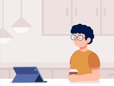 New Conversation Day illustration animation motion graphics new conversation day