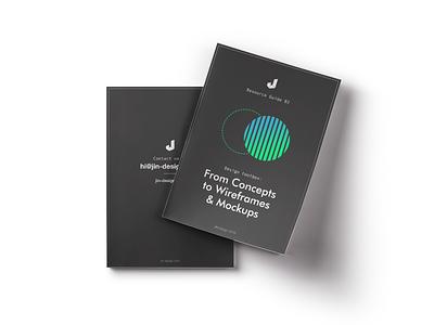 Ebook 03: From Concepts to Wireframes & Mockups design mock up ui ux jin design freebie ebook