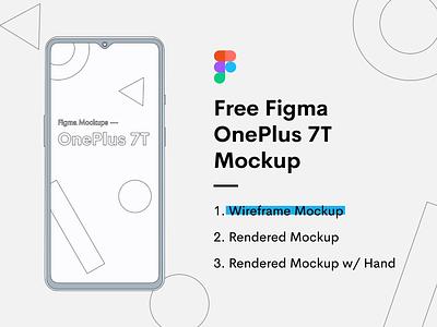 OnePlus 7T Mockup - Freebie freebies wireframe download free freebie figma 7t one plus hand mockup phone mockup phone mockup jin design