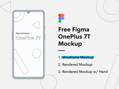 OnePlus 7T Mockup - Freebie