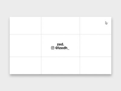 Zed's Portfolio Website 2