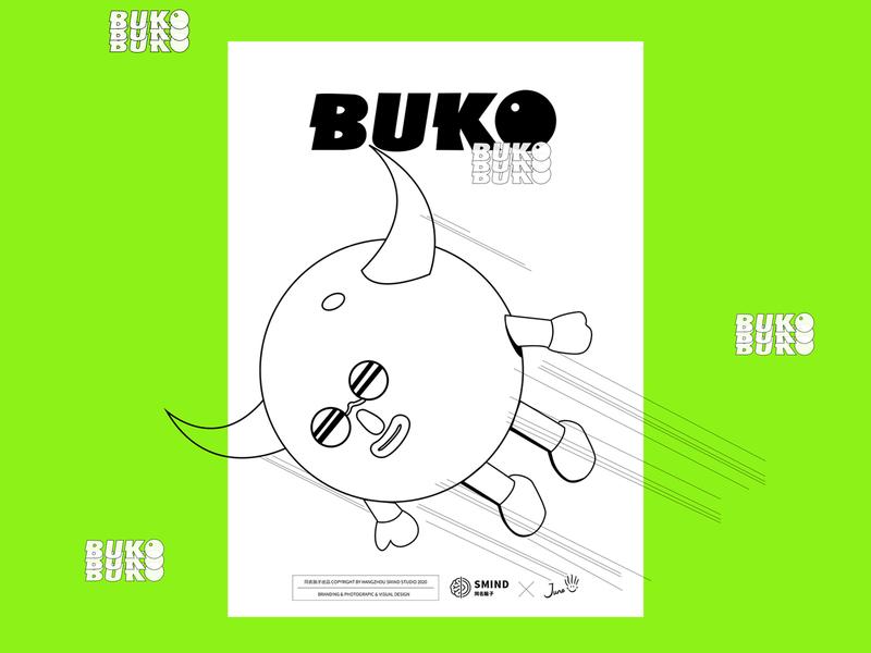 BUKO Loves Sports design illustration juno c4d 3d