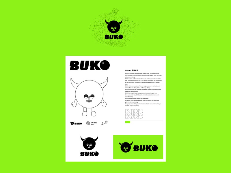 BUKO LOGO 3d c4d design juno icon
