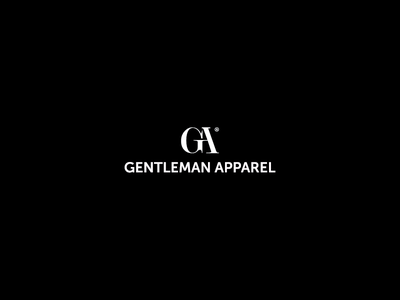 Logo Gentleman Apparel logo apparel cloths shop man black white classic gentleman apparel