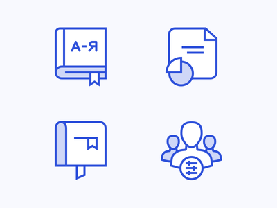 Empty State Icons message analytics book empty state outline illustration icons iconography icon