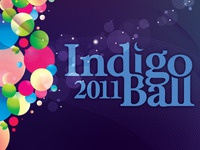 Indigo Ball Program Cover