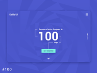 100   Redesign Dailyui Landing Page