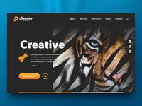 Creative partners landingpage - wip