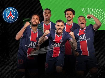 Unibet & PSG Football sponsorship design sponsorship football branding kindredgroup