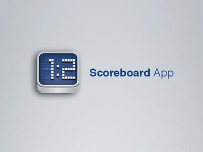 Scoreboard App Icon scoreboard app icon