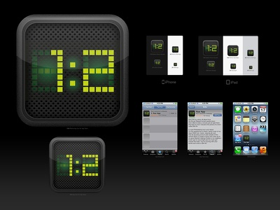 Scoreboard App Icon (second option) scoreboard app icon