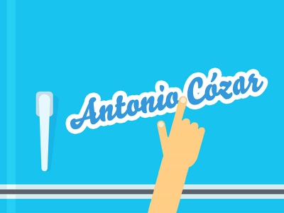 AntonioCozar Personal Branding Fridge Magnets antoniocozar branding personal magnets fridge custom
