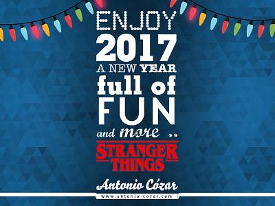 Fun and more Stranger Things in 2017 strangerthings personal branding new year 2017