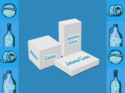 AntonioCozar Personal Branding Labels labels custom branding personal antoniocozar