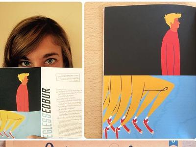 Firewords quarterly editorial illustration sofia sita conceptual magazine editorial illustration