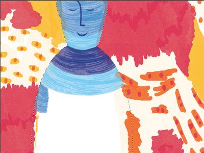 Wip! pen marker conceptual editorial illustration illustration editorial sofia sita wip