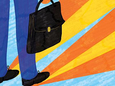 La Stampa la stampa pattern conceptual illustration editorial editorial illustration magazine sofia sita