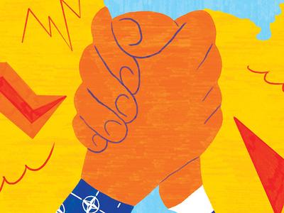 La Stampa italy russia nato conceptual illustration la stampa pattern conceptual illustration editorial editorial illustration magazine sofia sita
