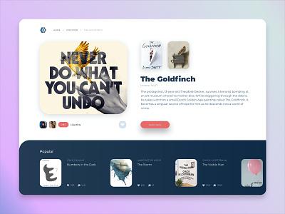 Book Site new book website design typography minimal web design ui ux webdesig website
