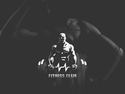 Fitness Gym graphics illustration uiux