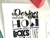 Design is not just how it looks like...