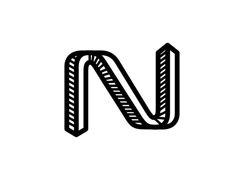 N 3d learning fun alphabets kids editorial hand lettering 3d lettering n lettering lettering expressive letters n