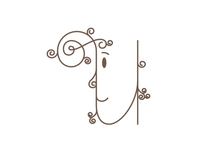 U 3d learning fun alphabets kids editorial hand lettering 3d lettering n lettering lettering expressive letters u