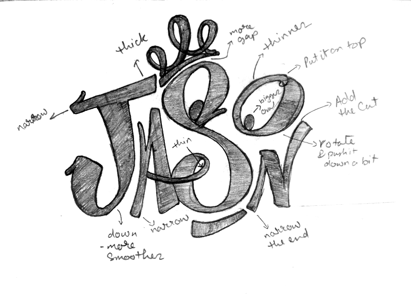 Jason: Logo Rebranding editorial quality assessment logo critique tagging handlettering graffiti logo rework logo rebranding jason reworking rebranding