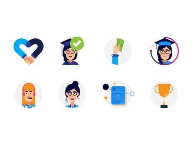 University icons icons iconography icons design icons pack social media icons instagram icons blog icon university icon event icon chat icon trending icon trendy qna icon qna blog ichat university