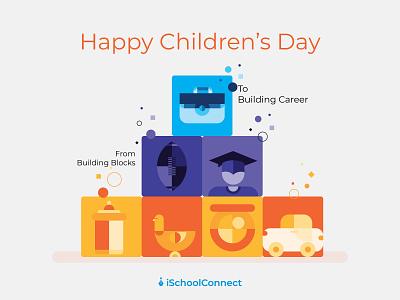 Happy Children's day 2019 2019 kids illustration illustration school career duck graduate rugby childrens illustration childrens day